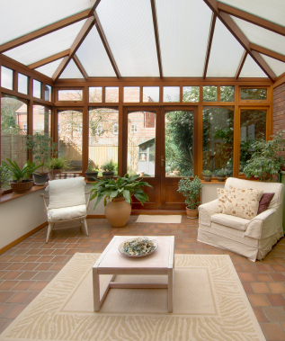 sun room home extension